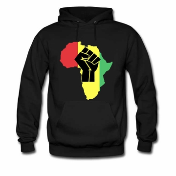 Rasta Africa Black Power Sweatshirt & Hoody