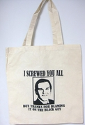 Thanks For Blaming The Black Guy Canvase Tote Bag