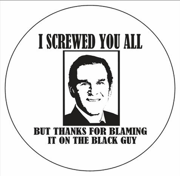 Thanks For Blaming The Black Guy  Magnet