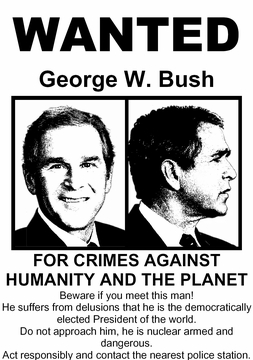 Todays Special! Bush Wanted T-Shirt As Low As $5!