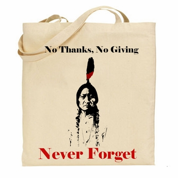 Native American Rights Tote Bags