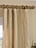 2-1 Tulare Silk Stripe Curtain 50 x 84 **Enter Qty 1 For 2 Panels, 2 For 4 etc