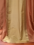 2-1 Somerset Silk Stripe Curtain 50 x 96 **Enter Qty 1 For 2 Panels, 2 For 4 etc