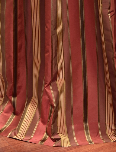 2-1 Melrose Silk Curtain 50 x 96