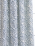 2-1 Pole Pocket The Haight Stonewash Printed Cotton Curtain 50x96