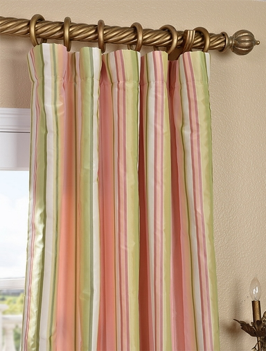 2-1 Serendipity Silk Curtain 50 x 120 **Enter Qty 1 For 2 Panels, 2 For 4 etc