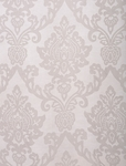 Antoinette White Patterned Sheer Swatch