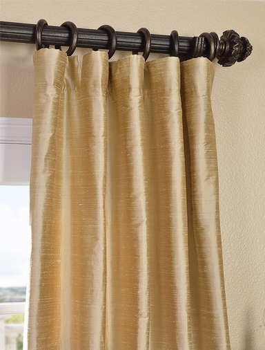 buy biscotti textured dupioni silk curtains and drapes