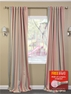 2-1 Creamsicle Blackout Curtain 50 X 108 & 120 + FREE ROD SET
