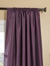 Dahlia Faux Silk Taffeta Curtain