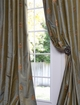 Thai Silk Embroidered Curtains