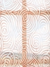 Esparanza Copper Embroidered Sheer Swatch