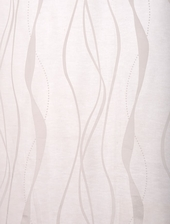 Florina White Patterned Sheer Swatch
