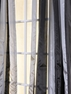 Fusion Black/Grey Sheer Curtain 48 x 84