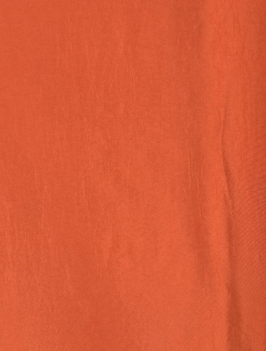 Harvest Orange Faux Silk Taffeta Swatch