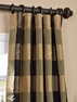 2-1 Eastwood Silk Plaid Curtain 50 x 120