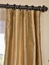 2-1 Eureka Silk Stripe Curtain 50 x 96 **Enter Qty 1 For 2 Panels, 2 For 4 etc