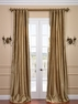 2-1 Nubia Silk Stripe Curtain 50 x 108 **Enter Qty 1 For 2 Panels, 2 For 4 etc