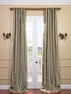 2-1 Providence Silk Stripe Curtain 50 x 120 **Enter Qty 1 For 2 Panels, 2 For 4 etc