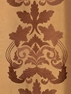 Lyon Bronze Embroidered Faux Silk Swatch