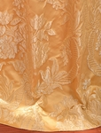 Magdelena Golden Faux Silk Jacquard Swatch