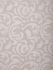 Margo Ivory Patterned Sheer Swatch