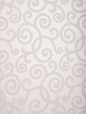 Marietta White Patterned Sheer Swatch