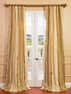 NEW: Bristol Silk Stripe Curtain