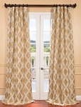 Dahl Multi Jacquard Curtain