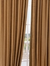 Empire Gold Yarn Dyed Faux Dupioni Silk Curtain