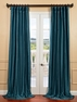 Fiji Yarn Dyed Faux Dupioni Silk Curtain