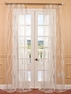 Florina White Patterned Sheer Curtain