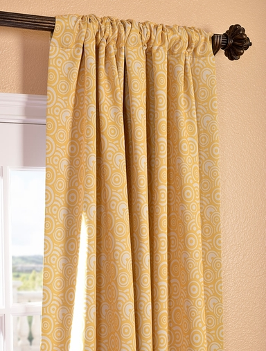 Haight Sunshine Blackout Curtain