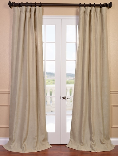 Hemp French Linen Curtain