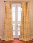 Honeycomb Printed Cotton Curtain