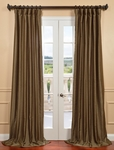 Marshland Yarn Dyed Faux Dupioni Silk Curtain