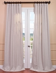 Oatmeal Heavy Faux Linen Curtain