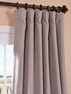 Parisian Taupe Bellino Blackout Curtain