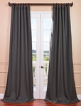 Poppyseed Heavy Faux Linen Curtain
