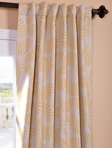 Sunburst Blackout Curtain
