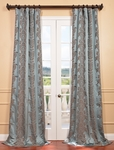 DEAL BUSTER: 2-1 Surrey Aqua Jacquard Curtain