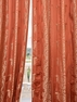 DEAL BUSTER: 2-1  Surrey Russet Jacquard Curtain
