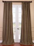 Truffle Brown French Linen Curtain