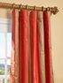 NEW: Waterford Sienna Silk Stripe Curtain