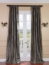 2-1 Preston Silk Stripe Curtain 50 x 108 **Enter Qty 1 For 2 Panels, 2 For 4 etc