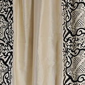 Plazzo Royale  Embroidered Silk Swatch