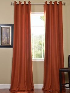 2-1 Rusty Grommet Cotenza Curtain Panel