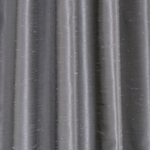 Storm Grey Faux Textured Dupioni Silk Swatch