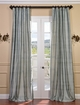 Textured Dupioni Silk Curtains