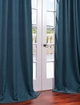 NEW: Textured Faux Linen Curtains